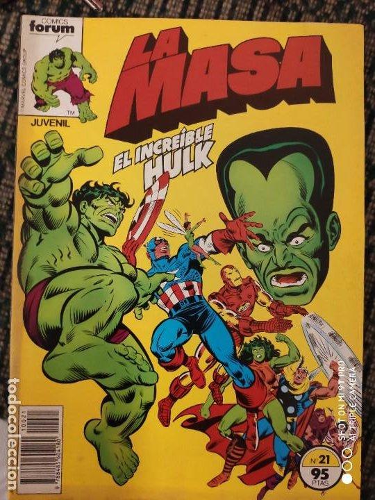 LA MASA FORUN NUMERO 21 (Tebeos y Comics - Forum - Daredevil)