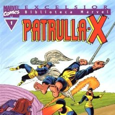Cómics: BIBLIOTECA MARVEL LA PATRULLA X SUELTOS PREGUNTAR ANTES. Lote 194944948