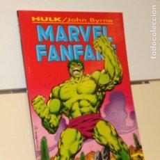 Cómics: HULK MARVEL FANFARE Nº 2 JOHN BYRNE- FORUM. Lote 194959011