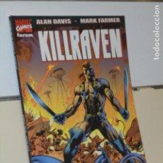 Cómics: KILLRAVEN LA GUERRA DE LOS MUNDOS ALAN DAVIS - FORUM - OFERTA. Lote 194960756