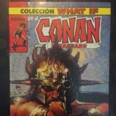 Cómics: COLECCION WHAT IF N.12 Y SI CONAN EL BARBARO SIGUIERA EN EL SIGLO XX . ( 1989/1994 ).. Lote 194963693