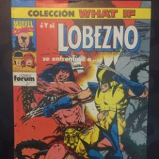 Cómics: COLECCION WHAT IF N.24 Y SI LOBEZNO SE ENFRENTASE A CONAN EL BARBARO . ( 1989/1994 ).. Lote 194963922