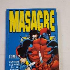 Cómics: MASACRE TOMO 2 COMICS FORUM ESTADO BUENO MAS ARTICULOS . Lote 194966800