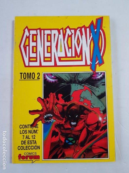 GENERACION X TOMO Nº 2 COMICS FORUM ESTADO NORMAL MAS ARTICULOS (Tebeos y Comics - Forum - Retapados)