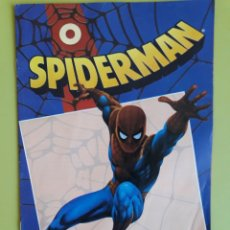Cómics: COMIC SÚPER HÉROES MARVEL FORUM SPIDERMAN 0 CON POSTER DE LOPEZ ESPI MARVEL COMICS. Lote 195013443