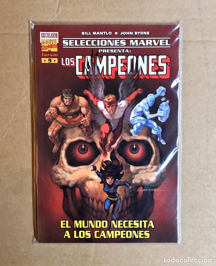 SELECCIONES MARVEL 9: LOS CAMPEONES (Tebeos y Comics - Forum - Prestiges y Tomos)