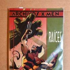 Cómics: ARCHIVOS X-MEN: LOBEZNO: RAÍCES. Lote 195030530