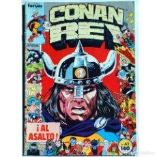 Cómics: CONAN REY Nº 42 / FORUM 1987 (DON KRAAR & JUDITH HUNT) SERIE GRAPA. Lote 195031091