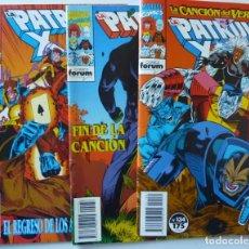 Cómics: LA PATRULLA X // Nº 134, 136, 137. Lote 195071620