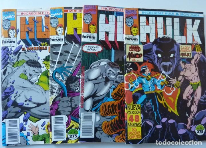 HULK // Nº 3,6,7,8 (Tebeos y Comics - Forum - Hulk)