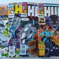 Cómics: HULK // Nº 3,6,7,8. Lote 195072411