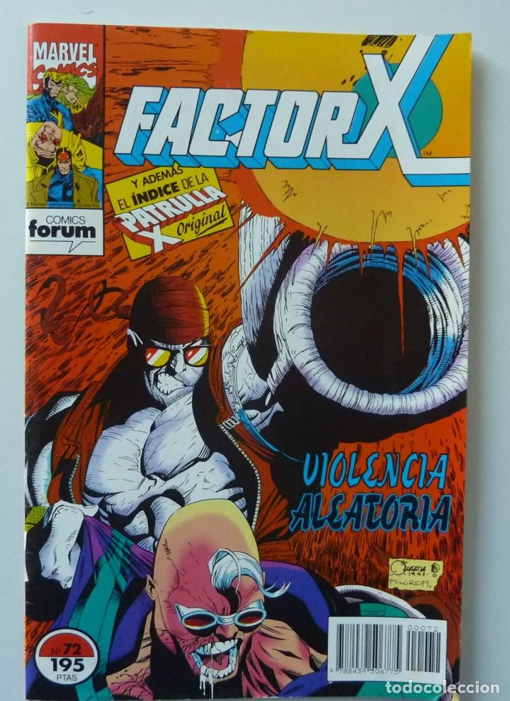 FACTOR X // Nº 72 (Tebeos y Comics - Forum - Factor X)