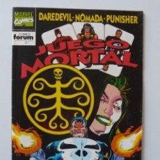 Cómics: DAREDEVIL / NOMADA / PUNISHER // Nº 3 / JUEGO MORTAL. Lote 195074115