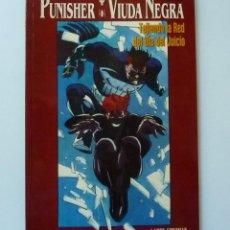 Cómics: PUNISHER / VIUDA NEGRA /Nº 64 // TEJIENDO LA RED DEL DIA DEL JUICIO. Lote 195074462