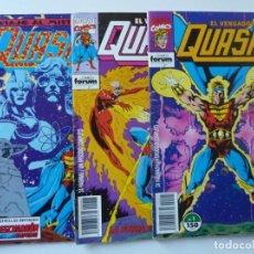 Cómics: QUASAR // Nº 1,2,4. Lote 195074681