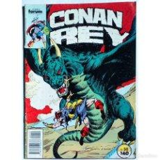 Cómics: CONAN REY Nº 50 / FORUM 1988 (DON KRAAR & MIKE DOCHERTY) SERIE GRAPA. Lote 195094871