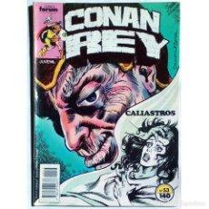 Cómics: CONAN REY Nº 53 / FORUM 1988 (DON KRAAR & MIKE DOCHERTY) SERIE GRAPA. Lote 195108981