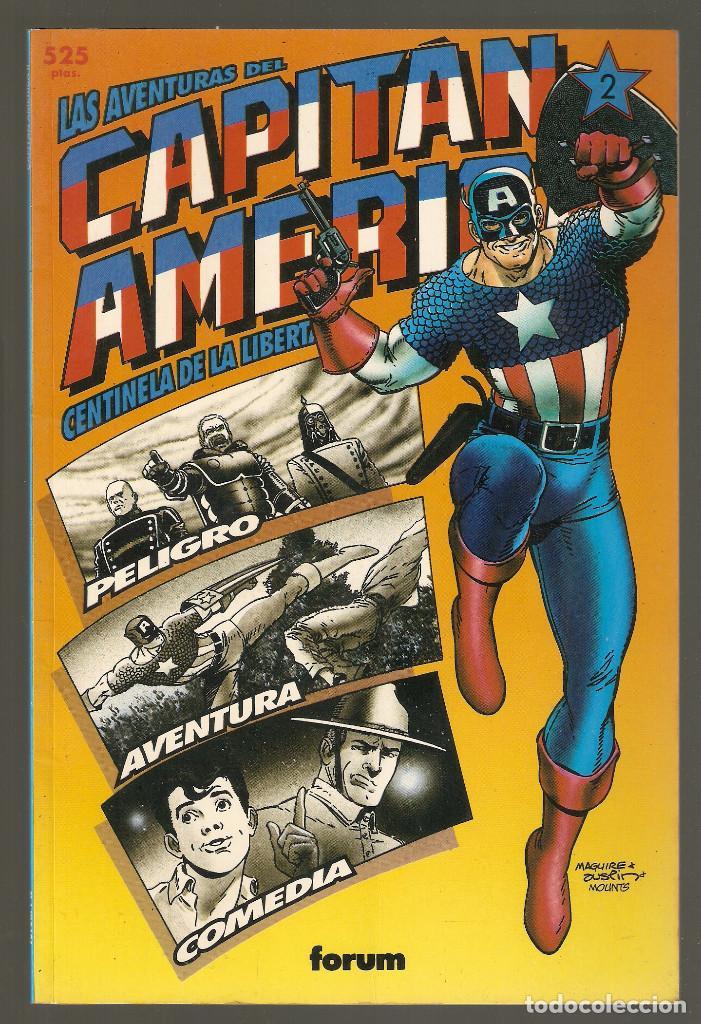COLECCION PRESTIGIO - VOL. 1 Nº 42 - CAPITAN AMERICA CENTINELA DE LA LIBERTAD TOMO II 2 - FORUM - (Tebeos y Comics - Forum - Prestiges y Tomos)