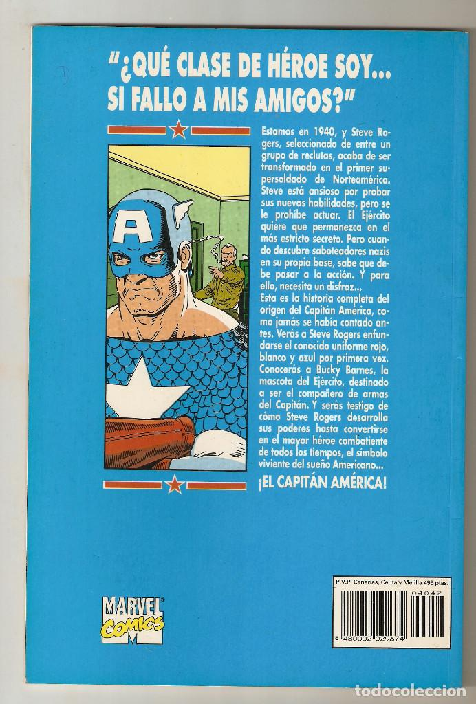 Cómics: COLECCION PRESTIGIO - VOL. 1 Nº 42 - CAPITAN AMERICA CENTINELA DE LA LIBERTAD TOMO II 2 - FORUM - - Foto 2 - 195137346