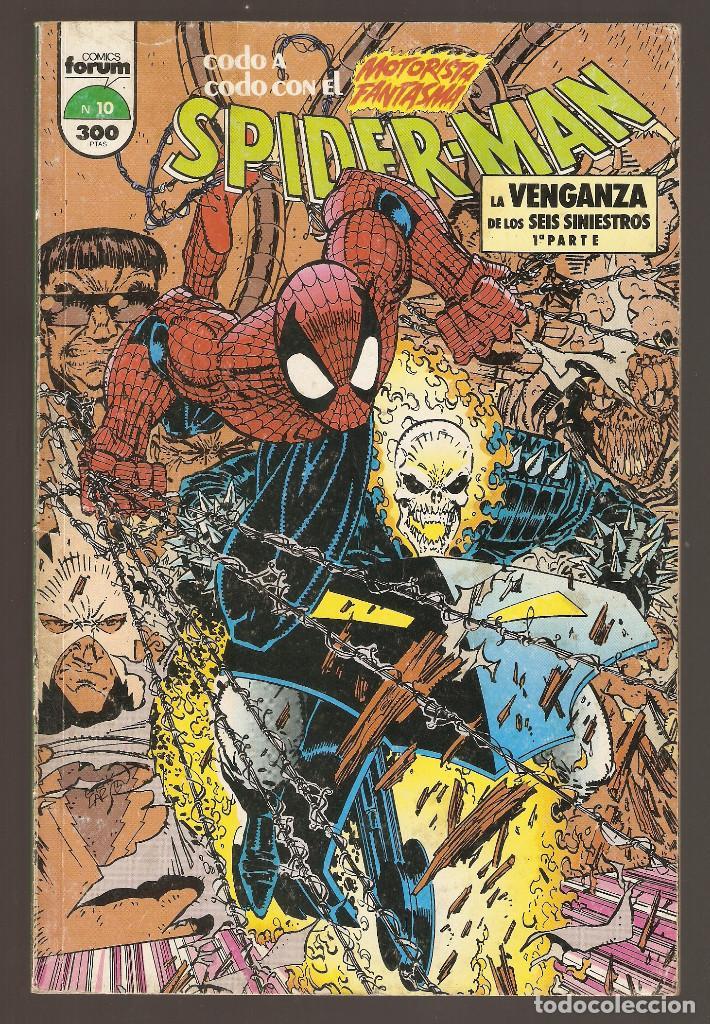 LA VENGANZA DE LOS SEIS SINIESTROS - TOMO Nº 10 - CON EL MOTORISTA FANTASMA - FORUM - (Tebeos y Comics - Forum - Prestiges y Tomos)