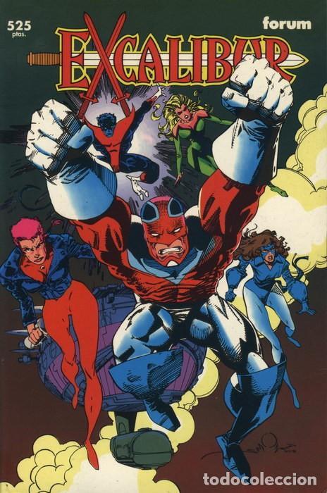 COLECCIÓN PRESTIGIO VOL.1 Nº 51 - FORUM. EXCALIBUR: PATENTE AÉREA. (Tebeos y Comics - Forum - X-Men)