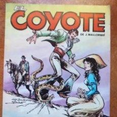 Cómics: EL COYOTE. NUM 20 ODIO. FORUM. Lote 195176180