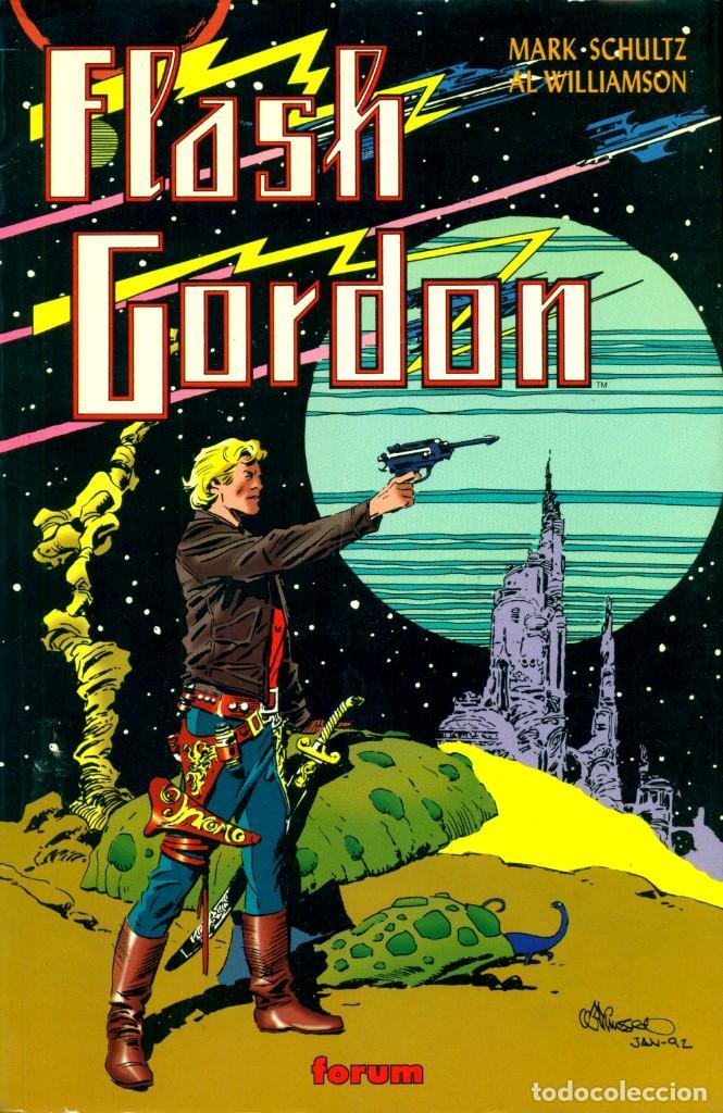 FLASH GORDON (FORUM, 1995) DE AL WILLIAMSON Y MARK SCHULTZ (Tebeos y Comics - Forum - Prestiges y Tomos)