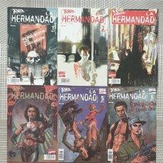 Cómics: X-MEN. LA HERMANDAD. SL DE 9 COMICS. COMICS FORUM 2002. Lote 195209996