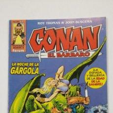 Cómics: CONAN EL BARBARO Nº 42. ROY THOMAS & JOHN BUSCEMA. FANTASIA HEROICA FORUM. TDKC50. Lote 195226433