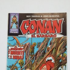 Cómics: CONAN EL BARBARO Nº 41. ROY THOMAS & JOHN BUSCEMA. FANTASIA HEROICA FORUM. TDKC50. Lote 195226503