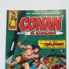 Cómics: CONAN EL BARBARO Nº 43. ROY THOMAS & JOHN BUSCEMA. FANTASIA HEROICA FORUM. TDKC50. Lote 195226551