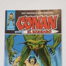 Cómics: CONAN EL BARBARO Nº 44. ROY THOMAS & JOHN BUSCEMA. FANTASIA HEROICA FORUM. TDKC50. Lote 195227503