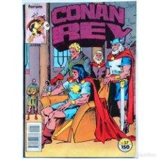 Cómics: CONAN REY Nº 57 / FORUM 1989 (DON KRAAR & MIKE DOCHERTY) SERIE GRAPA. Lote 195235093