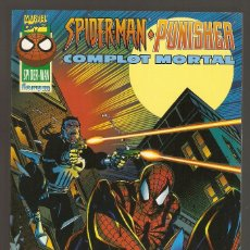 Cómics: SPIDERMAN / PUNISHER: COMPLOT MORTAL - DICIEMBRE 1996 - 88 PÁGINAS - FORUM -. Lote 195239521