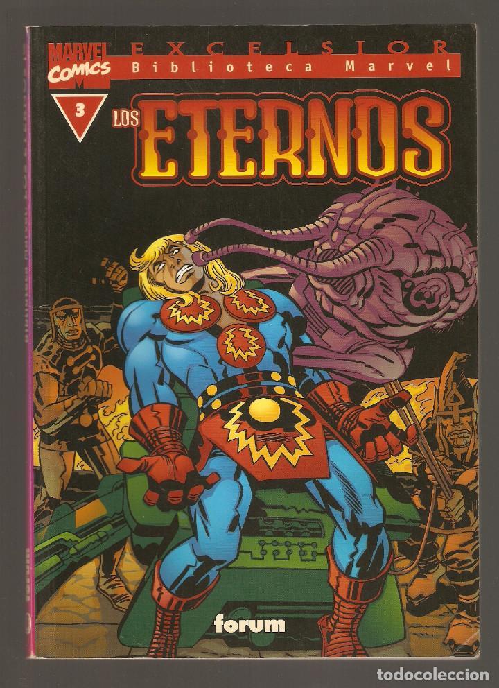 BIBLIOTECA MARVEL - LOS ETERNOS - Nº 3 - MARVEL COMICS - FORUM - (Tebeos y Comics - Forum - Prestiges y Tomos)
