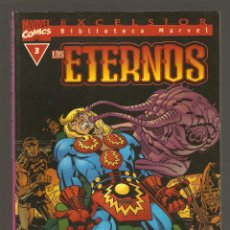 Cómics: BIBLIOTECA MARVEL - LOS ETERNOS - Nº 3 - MARVEL COMICS - FORUM -. Lote 195242311