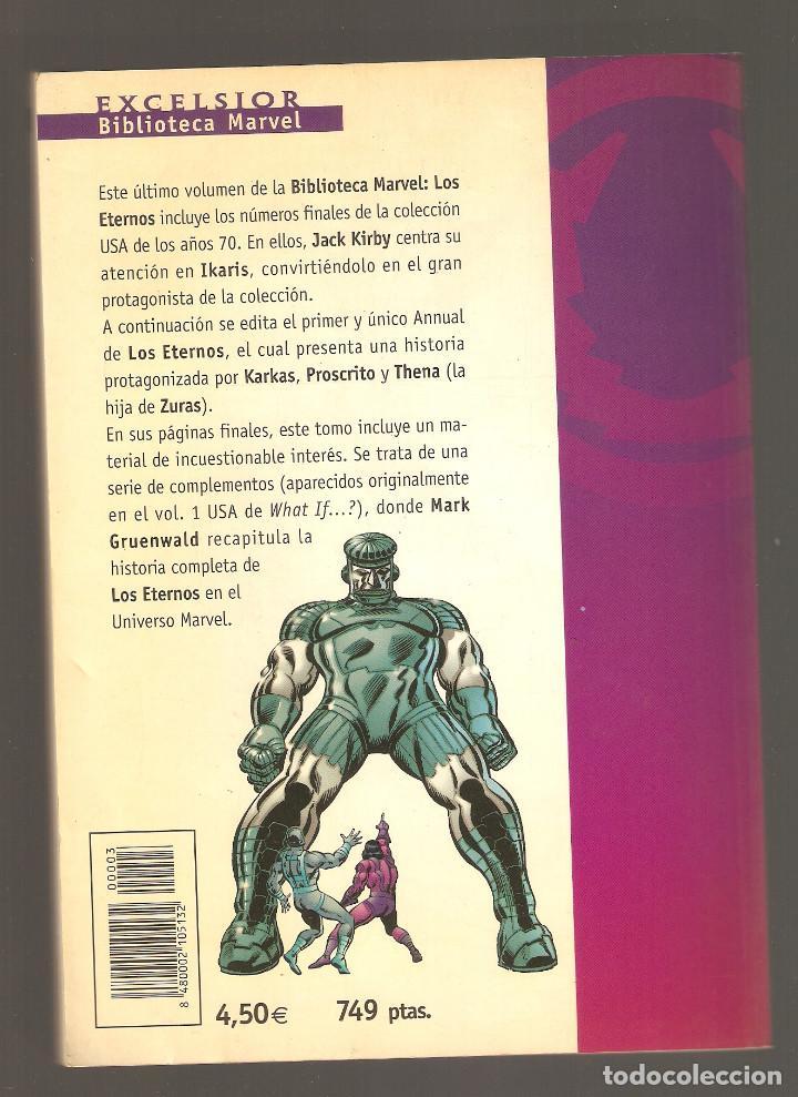 Cómics: BIBLIOTECA MARVEL - LOS ETERNOS - Nº 3 - MARVEL COMICS - FORUM - - Foto 2 - 195242311