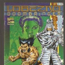 Cómics: LOBEZNO - DOOMBRINGER - NOVIEMBRE 1998 - 48 PÁGINAS - FORUM -. Lote 195242925