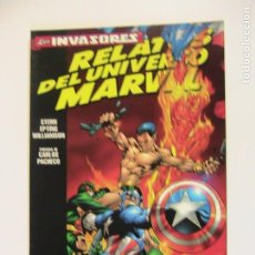 Cómics: RELATOS DEL UNIVERSO MARVEL. LOS INVASORES. FORUM, 1999.. Lote 195255040