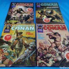 Cómics: LOTE 4 COMICS, LA ESPADA SALVAJE DE CONAN EL BÁRBARO. CÓMICS FORUM. Lote 195272641