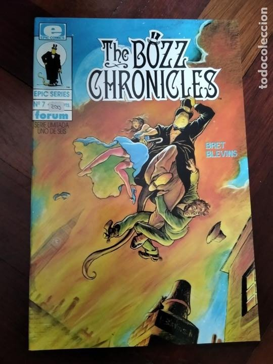 THE BOZZ CHRONICLES 1. LINEA EPIC (Tebeos y Comics - Forum - Otros Forum)