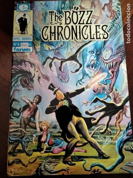 THE BOZZ CHRONICLES 2. LINEA EPIC (Tebeos y Comics - Forum - Otros Forum)