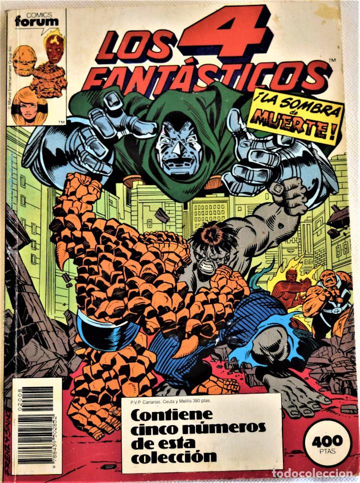 LOS 4 FANTASTICOS Nº 86, 87, 88, 89 Y 90 - RETAPADO - COMICS FORUM - TAPA BLANDA (Tebeos y Comics - Forum - 4 Fantásticos)