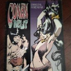 Cómics: CONAN Y BELIT ESPECIAL PORTADAS. Lote 195291188