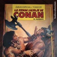 Cómics: LA ESPADA SALVAJE DE CONAN. ALBUM ESPECIAL TOMO 22. Lote 195291453