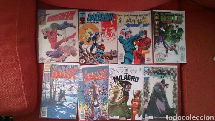 LOTE DE 21 COMICS EN GRAPA NUMEROS SUELTOS BATMAN EL CASTIGADOR DAREDEVIL ARMA X (Tebeos y Comics - Forum - Otros Forum)