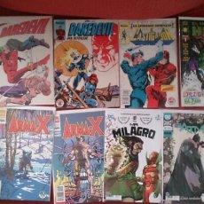 Cómics: LOTE DE 21 COMICS EN GRAPA NUMEROS SUELTOS BATMAN EL CASTIGADOR DAREDEVIL ARMA X. Lote 195306255