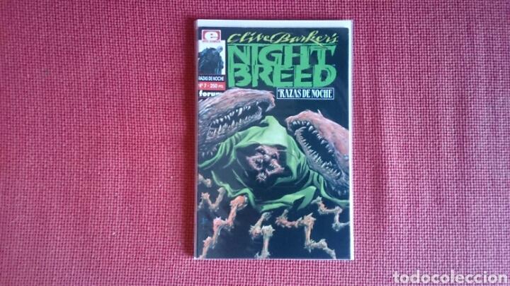 NIGHTBREED RAZAS DE NOCHE NUMERO 7 COMO NUEVO CLIVE BARKER (Tebeos y Comics - Forum - Otros Forum)