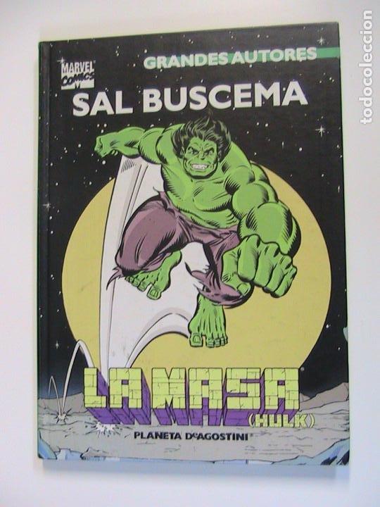 GRANDES AUTORES. SAL BUSCEMA. LA MASA. (Tebeos y Comics - Forum - Hulk)