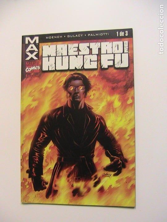 MAESTRO DEL KUNG FU Nº 1. FORUM, 2003. (Tebeos y Comics - Forum - Prestiges y Tomos)
